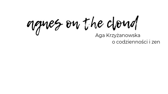 Agnesonthecloud.pl. Blog thinkstylowy. Do pomyślenia.